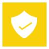 shield check mark checklist icon